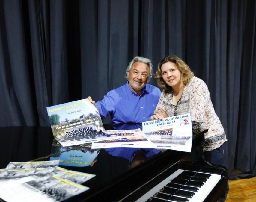 La Casa de Cultura acoge a finales de mes el VI Festival Internacional de Coros de l'Alfàs del Pi