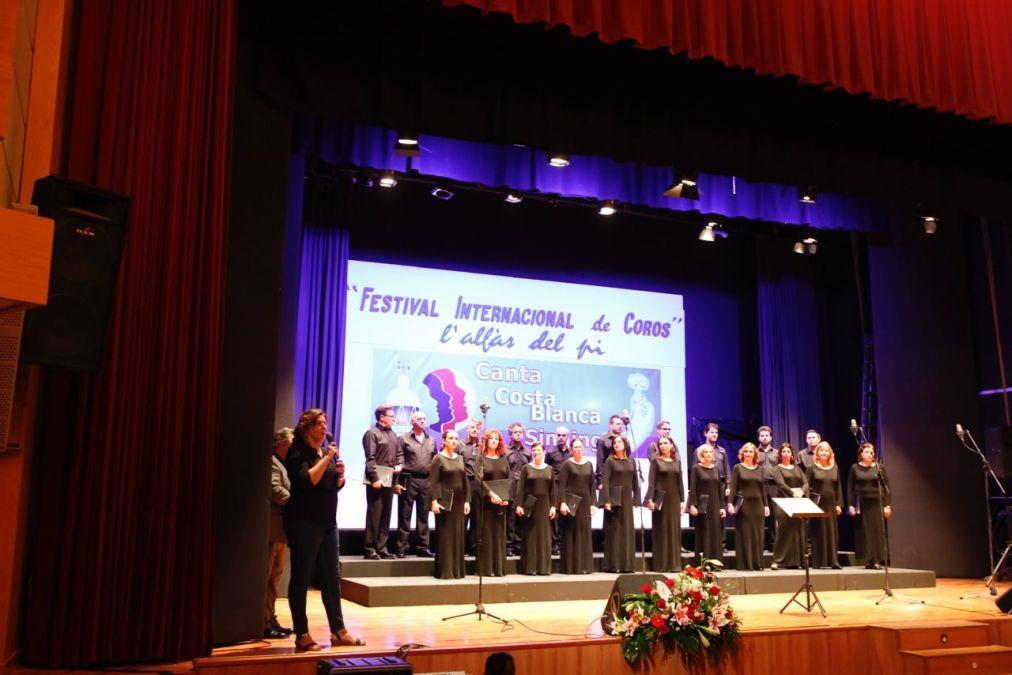 El Cor de la Generalitat Valenciana inaugura el sexto Festival Internacional de Coros de l'Alfàs del Pi