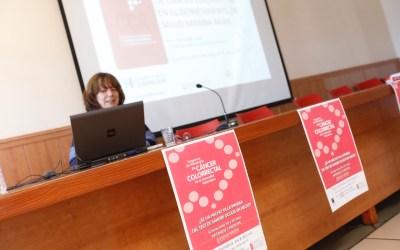 La Casa de Cultura acogió una charla sobre cáncer colorrectal