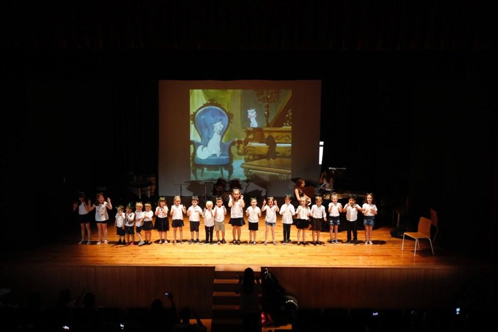 Los alumnos de la Escuela de Música de La Lira finalizaron el curso con un concierto de clásicos Disney