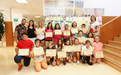 50 alumnos de 5º y 6º de Primaria finalizan el programa de mediación escolar con la entrega de diplomas