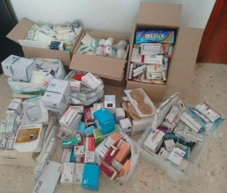 L'Alfàs reúne 44 kilos de medicamentos para Venezuela