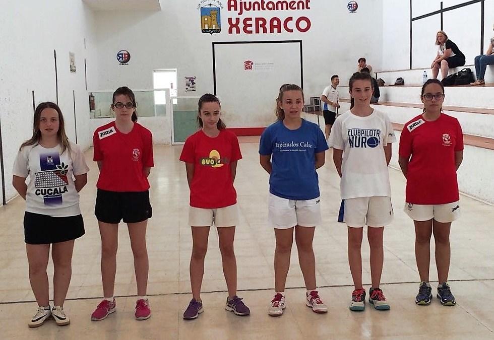 El club de pelota valenciana de l'Alfàs del Pi  estará presente en las fases finales del campeonato autonómico