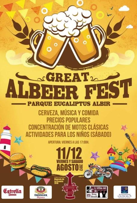 El Albir se rendirá a la cultura de la cerveza con el Albeer Fest