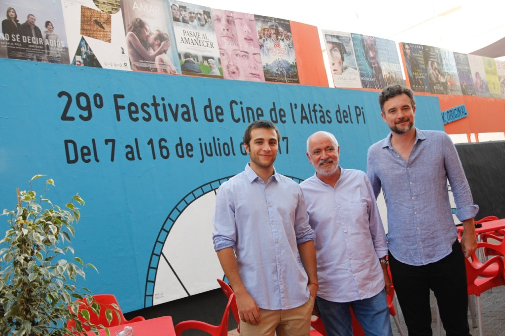 Esteban Crespo y Pol Monen presentan 'Amar' en el 29 Festival de Cine de l'Alfàs