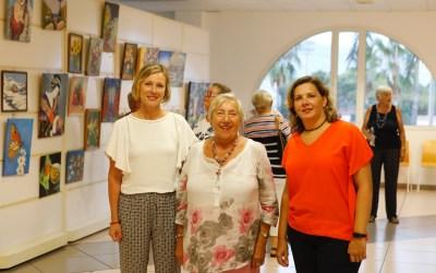 Barbara Beekman expone en la Casa de Cultura de l'Alfàs