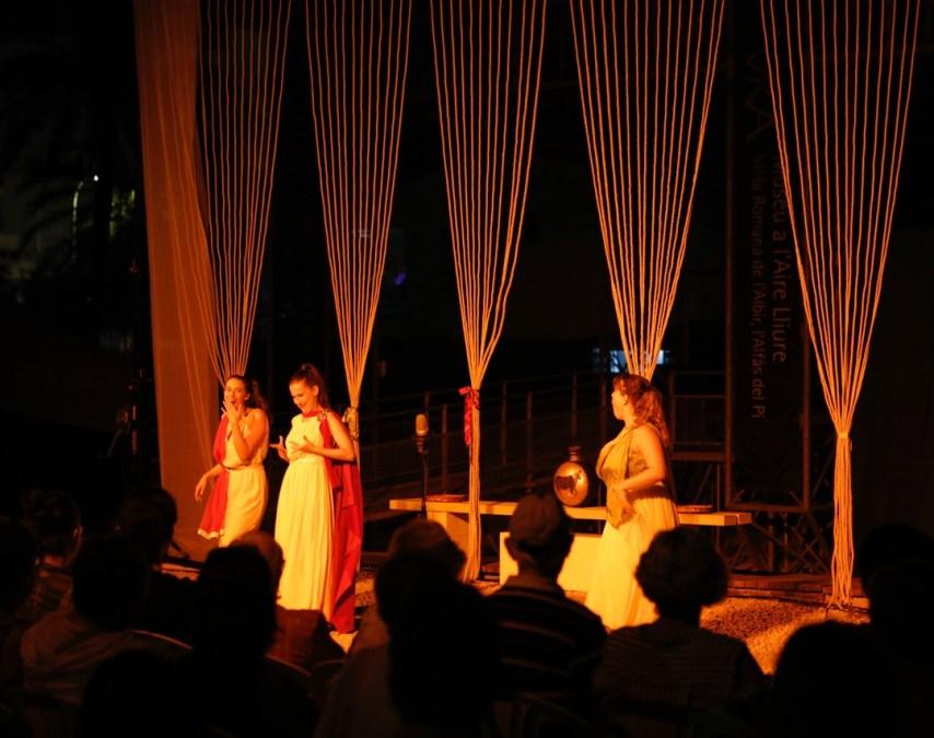 Una noche de teatro en el Museo de la Villa Romana de l'Albir