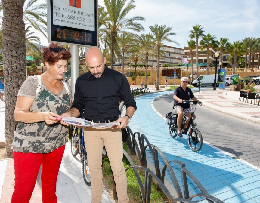 El Día de la Bicicleta de l'Alfàs del Pi, acto central de la Semana de la Movilidad
