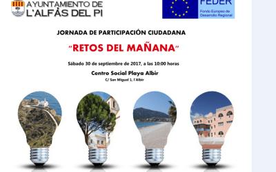 """""""Los Retos del Mañana"""" una jornada de participación ciudadana en l'Alfàs"""