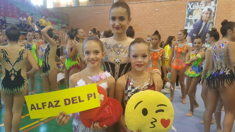 Irina Fernández y Laia Rodríguez del C.G.R. Primavera consiguen el oro en el  III Trofeo de Conjuntos  de Xabia