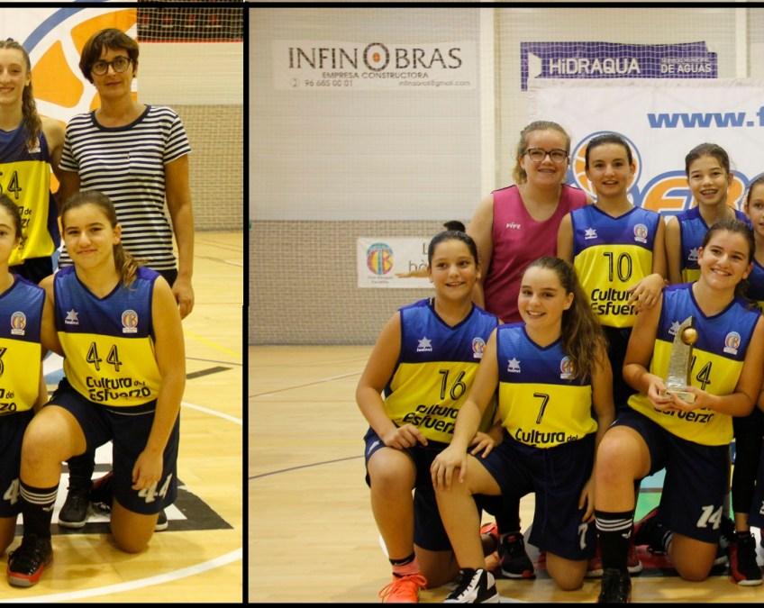Dos equipos del CB Terralfás  se proclaman campeones de la lliga valenciana IR en la edición Alicante
