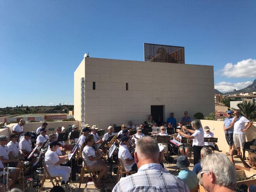 La Hennum Musikken de Lier visita l'Alfàs del Pi con motivo de su gira española con la que celebra sus 120 años