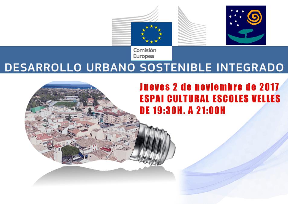Este jueves charla coloquio sobre el desarrollo urbano sostenible de l'Alfàs