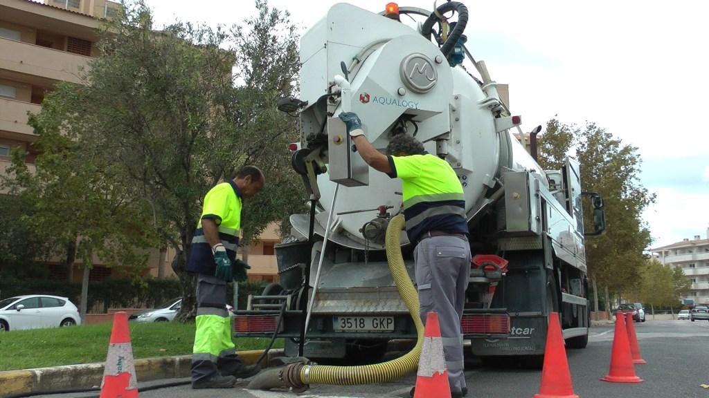 limpieza imbornales l'Alfàs 2017