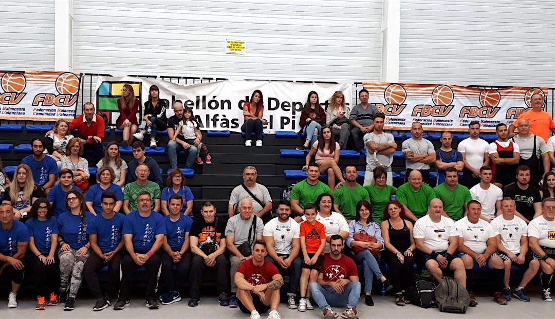 Los alzadores de la Marina Baixa baten nuevos récords de España en el Campeonato de l'Alfàs del Pi