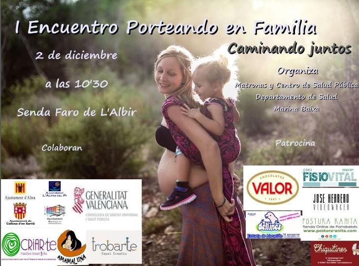 L'Alfàs acoge el primer Encuentro 'Porteando en familia. Caminando juntos'