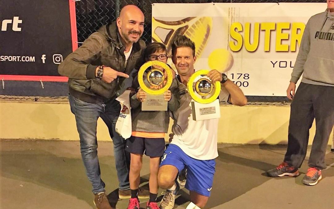 La pareja formada por Scott y Karim fueron los ganadores del  noveno  torneo de tenis de Dobles  Mixto de l'Alfàs del Pi.