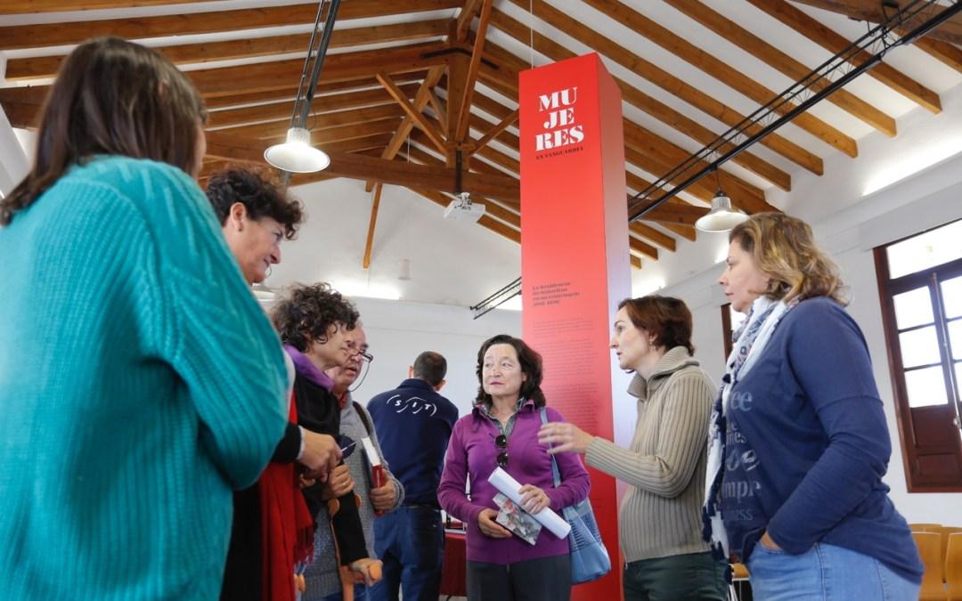 Mañana llega al Espai Cultural Escoles Velles la exposición 'Mujeres en vanguaria'