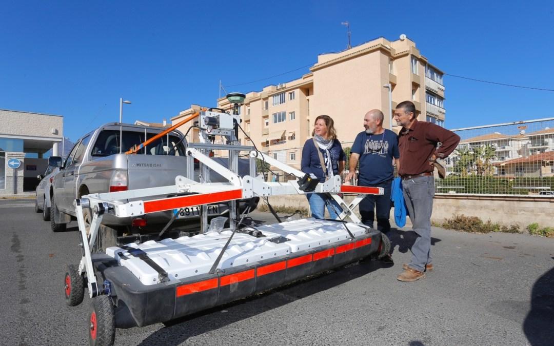 Un radar de última generación para hallar restos arqueológicos en el subsuelo de l'Albir