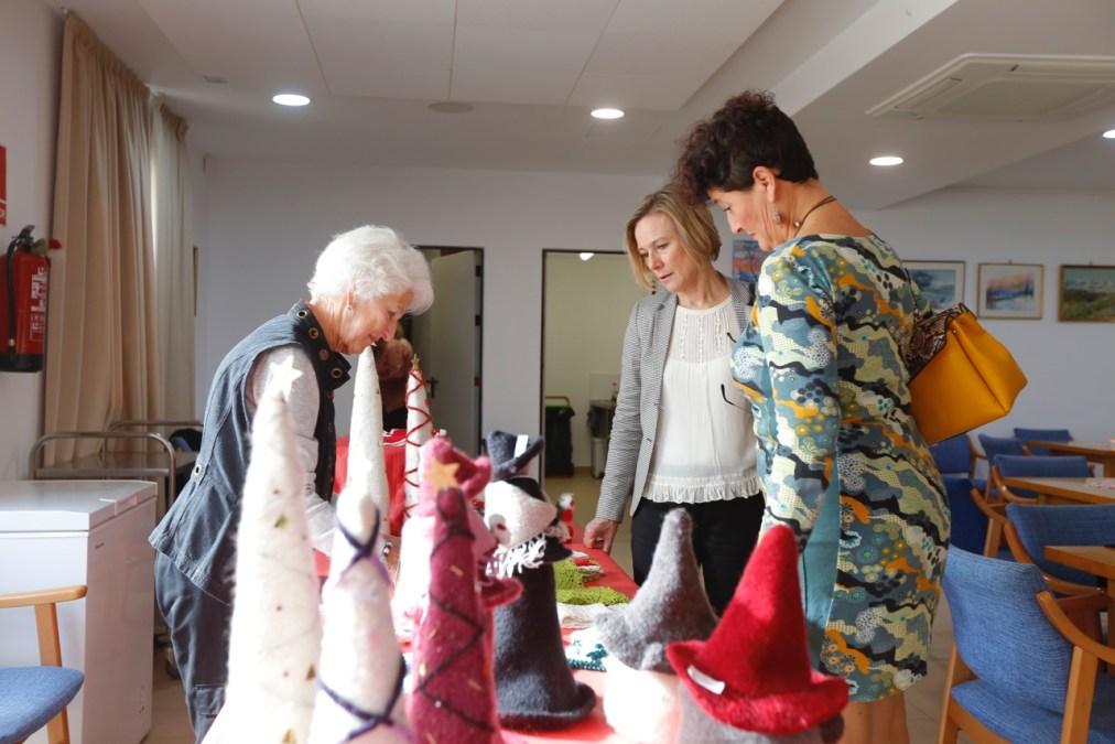 El Club Noruego Costa Blanca instala por quinto año un mercadillo de Navidad