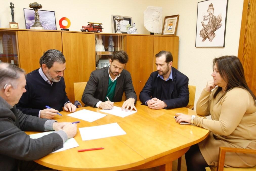 Convenio para potenciar la innovación en las empresas de l'Alfàs