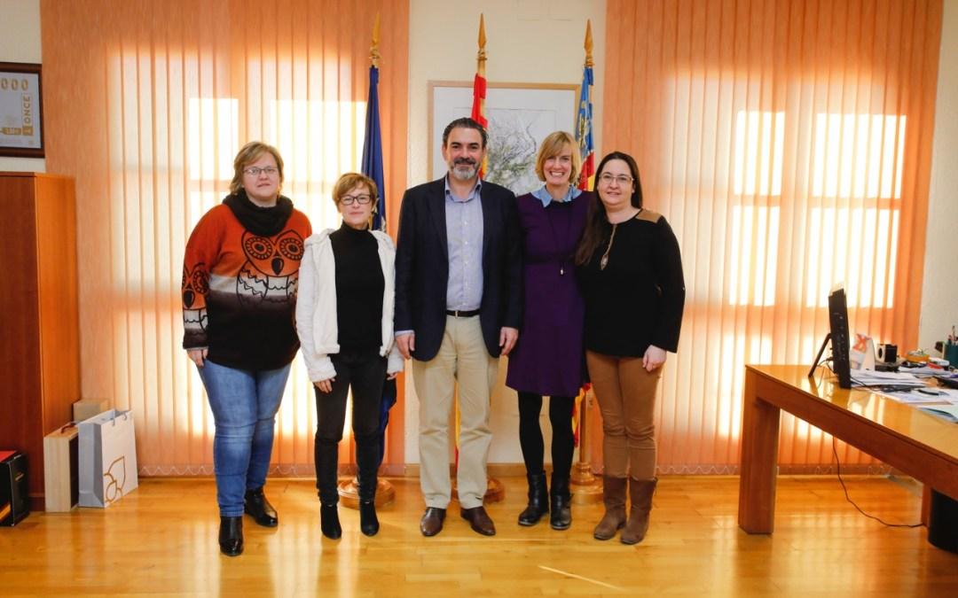 El Ayuntamiento de l'Alfàs inicia una línea de colaboración con la asociación Sweetie