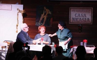 El taller de teatro de los jubilados del Albir celebra la llegada de la Navidad con dos divertidos sainetes