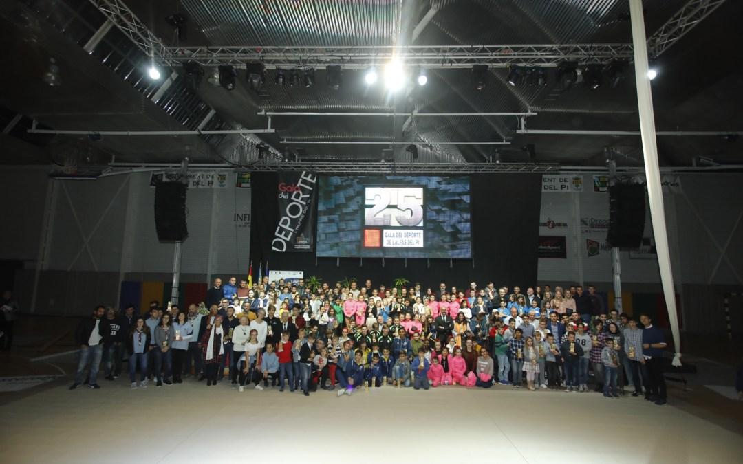 La Gala del Deporte de l'Alfàs celebra su 25 Aniversario