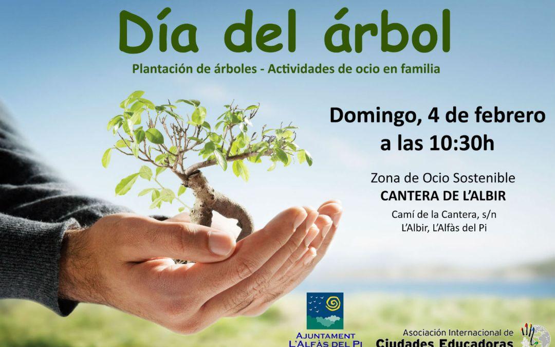 El Ayuntamiento de l'Alfàs celebrará este domingo el Día del Árbol reforestando la cantera de Serra Gelada