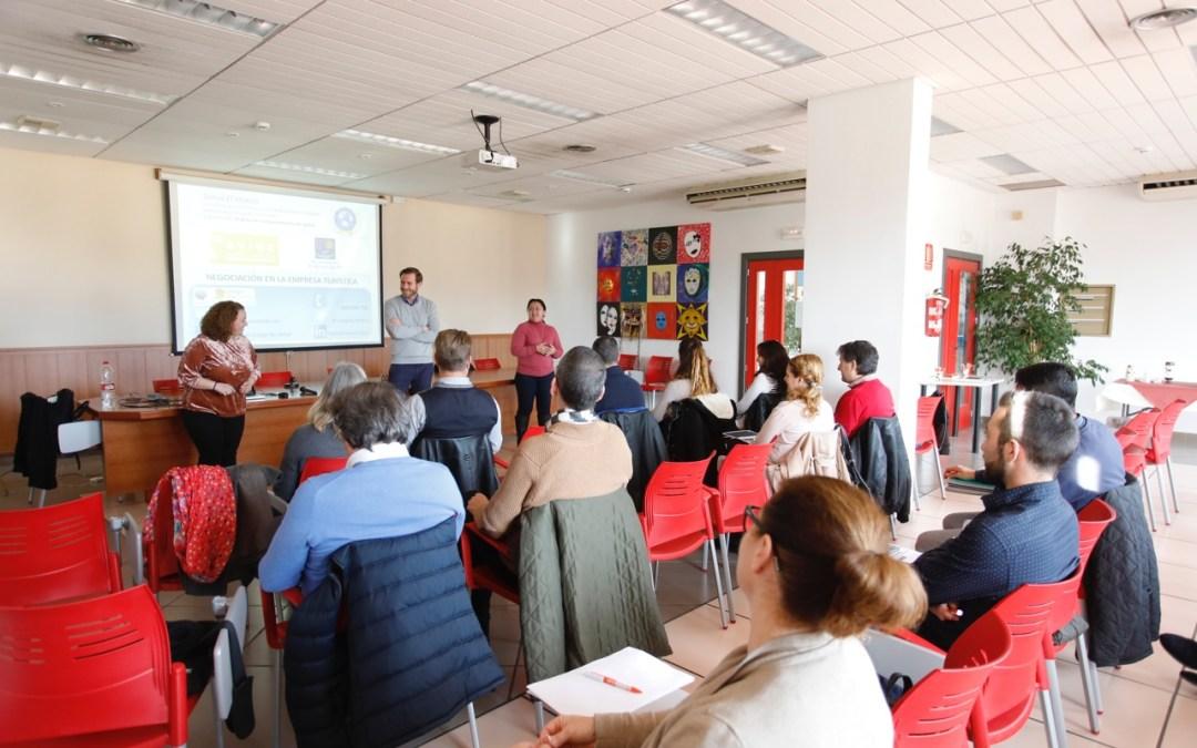 Continúan las jornadas formativas de AVIBE con un taller sobre comunicación no verbal en la negociación