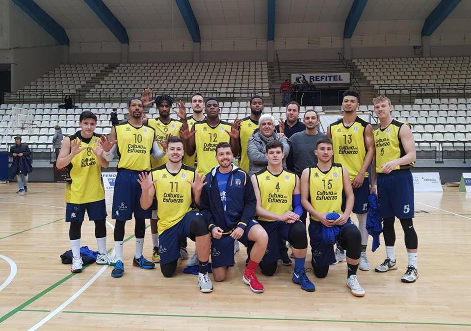 El equipo de EBA ,L'Alfàs Sha Wellness Clínic acumula 10 victorias consecutivas en el mejor momento de la temporada