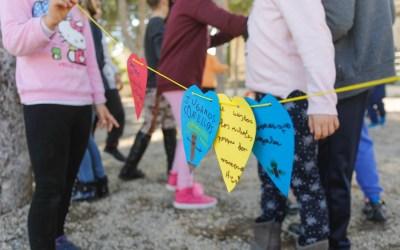 Los colegios de l'Alfàs celebran el Día del Árbol