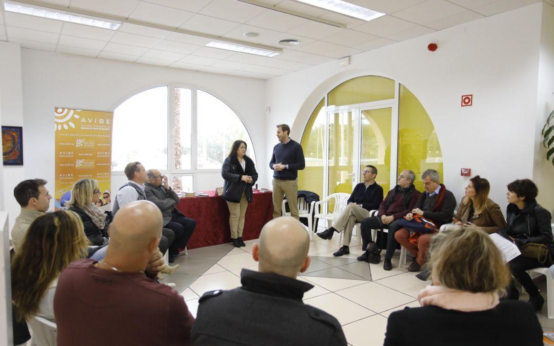 Empresarios de la comarca se dan cita en las Jornadas de AVIBE en l'Alfàs