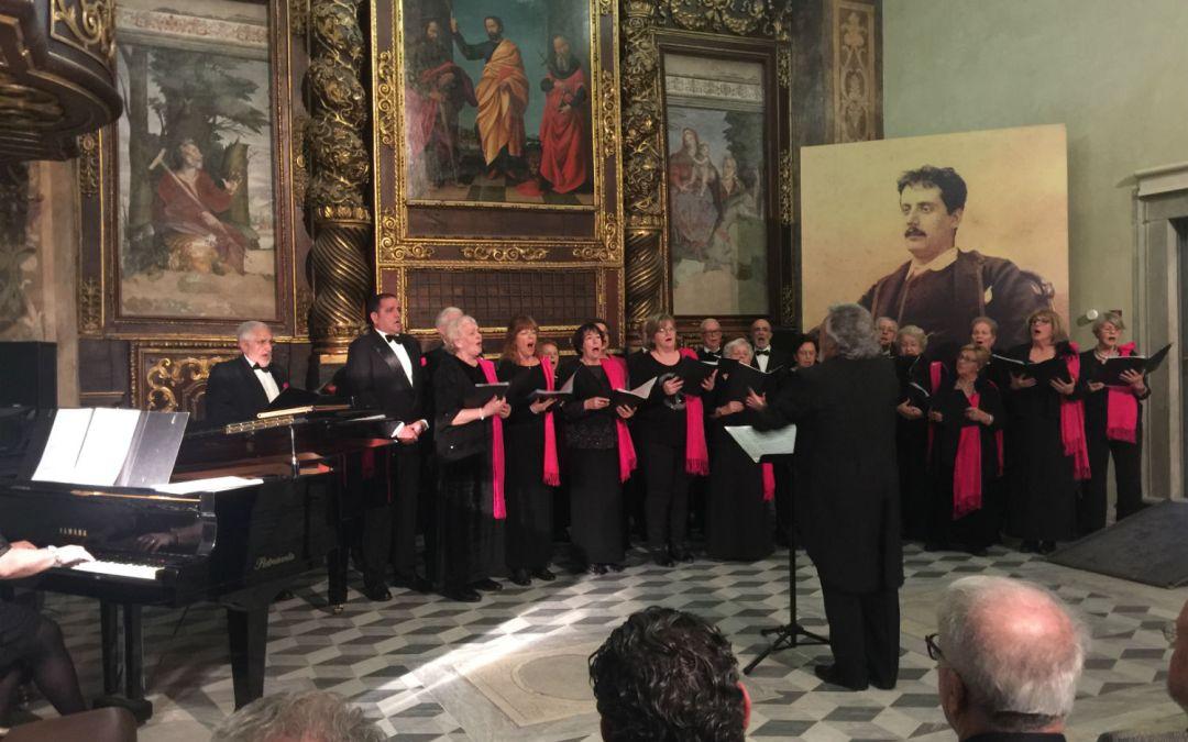 """La Coral Polifónica """"L'Alfàs Canta"""" ofrece un concierto en la ciudad toscana de Lucca"""