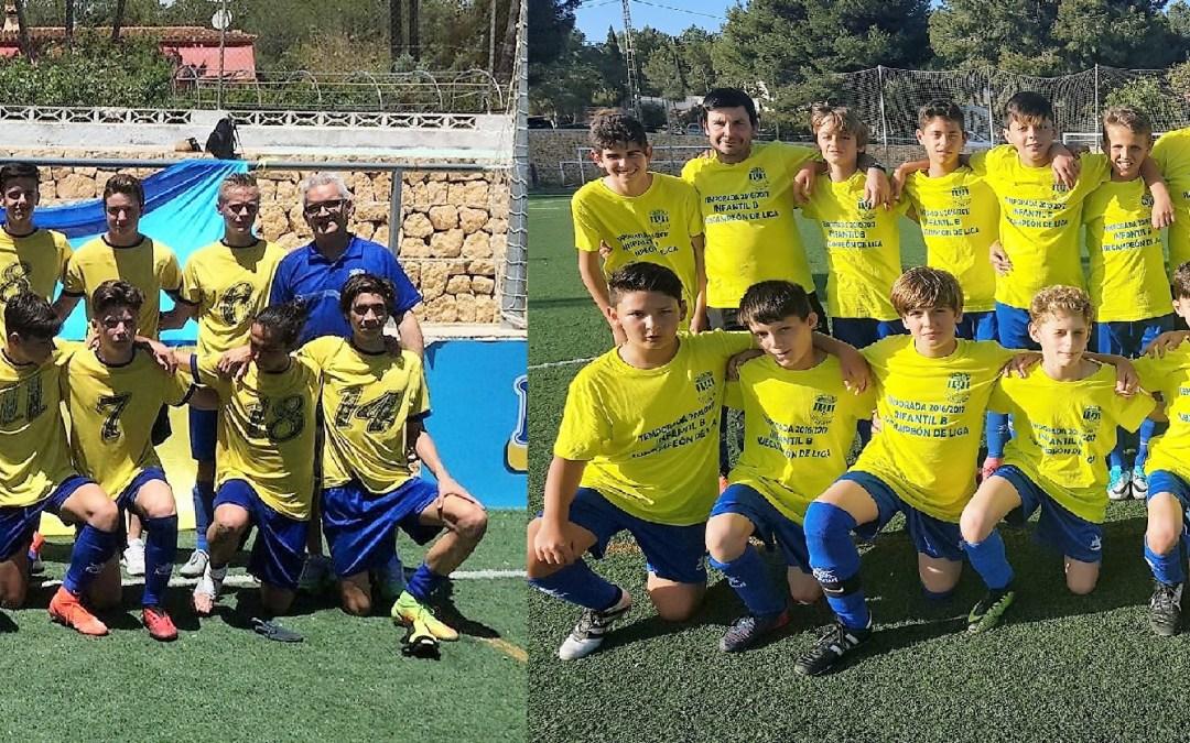 Dos equipos de l'Alfàs del Pi estarán en  la Gala Anual de Entrega de Trofeos de la provincia de Alicante de la Federación de Fútbol de la Comunidad Valenciana