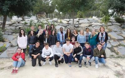 Alumnos de l'Alfàs participan en un concurso sobre ecosistemas marinos del Instituto de Ciencias del Mar