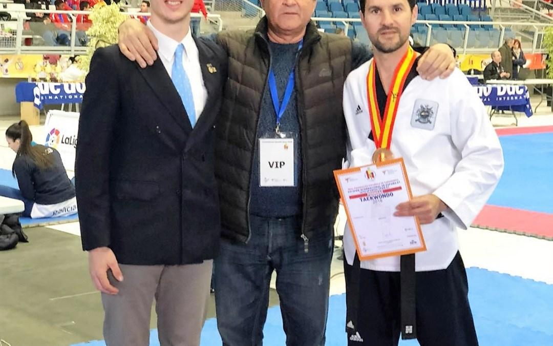 Ximo Ródenas consigue la medalla de bronce  en el Open de España.