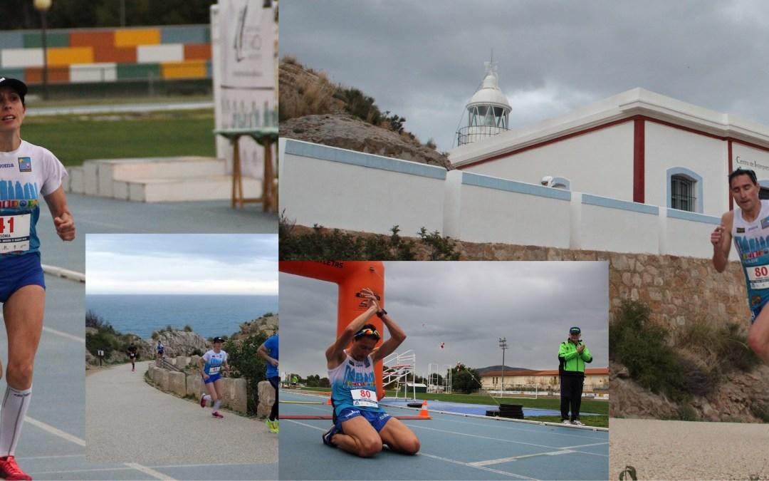 Juan Antonio Fernández Cantos y Sonia Tirado son los ganadores de las X millas de la Costa Blanca.