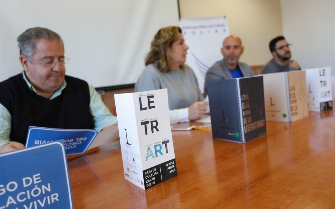 Arranca el segundo Festival Letrart de l'Alfàs del Pi