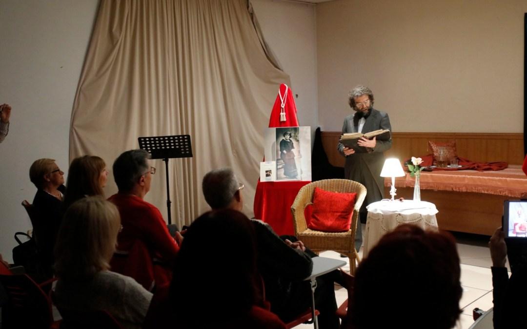 La Casa de Cultura de l'Alfàs acogió un recital de poemas de la escritora uruguaya Matilde Acosta