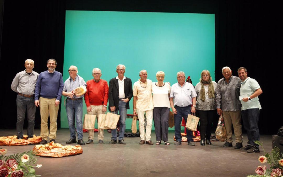 Los ganadores de la competición de petanca clausuran la Semana del Mayor en l'Alfàs