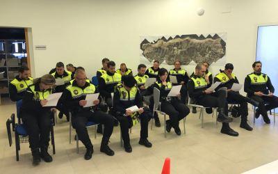 Agentes de Policía de l'Alfàs participan en un Curso de Intervención Operativa