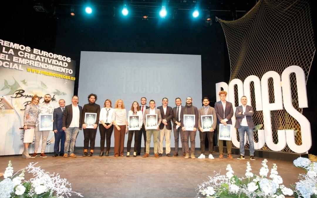 Leandro Cano homenajeado en los Premios PECES de l'Alfàs