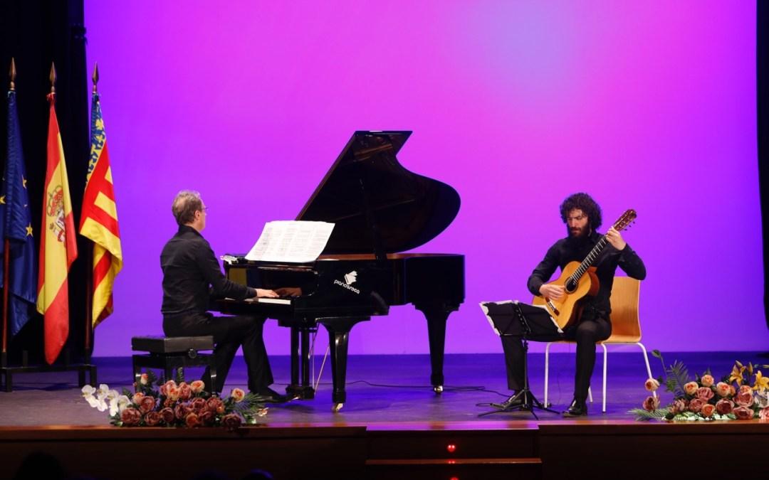 El Dúo Vanucci-Torrigiani actuó en la Casa de Cultura