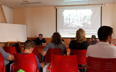 La asociación Muixeranga Marina Baixa se da a conocer en l'Alfàs del Pi