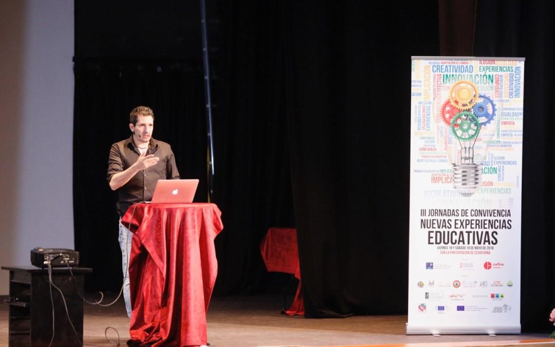 """César Bona: """"La esencia de la educación es hacer las cosas sin esperar nada a cambio"""""""