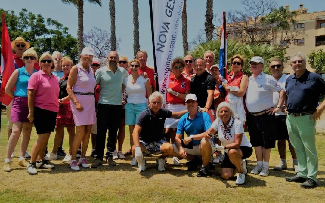 La X Copa Holanda de Golf vuelve a ser  nexo de unión entre los colectivos de residentes extranjeros que conviven en l'Alfàs del Pi.