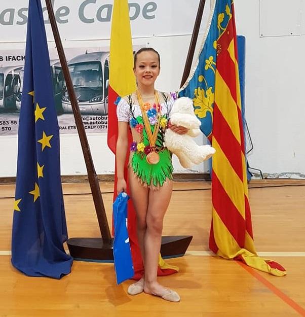 Un oro y dos bronces para Laia Rodríguez en  la fase Provincial del Campeonato España Individual Absoluto
