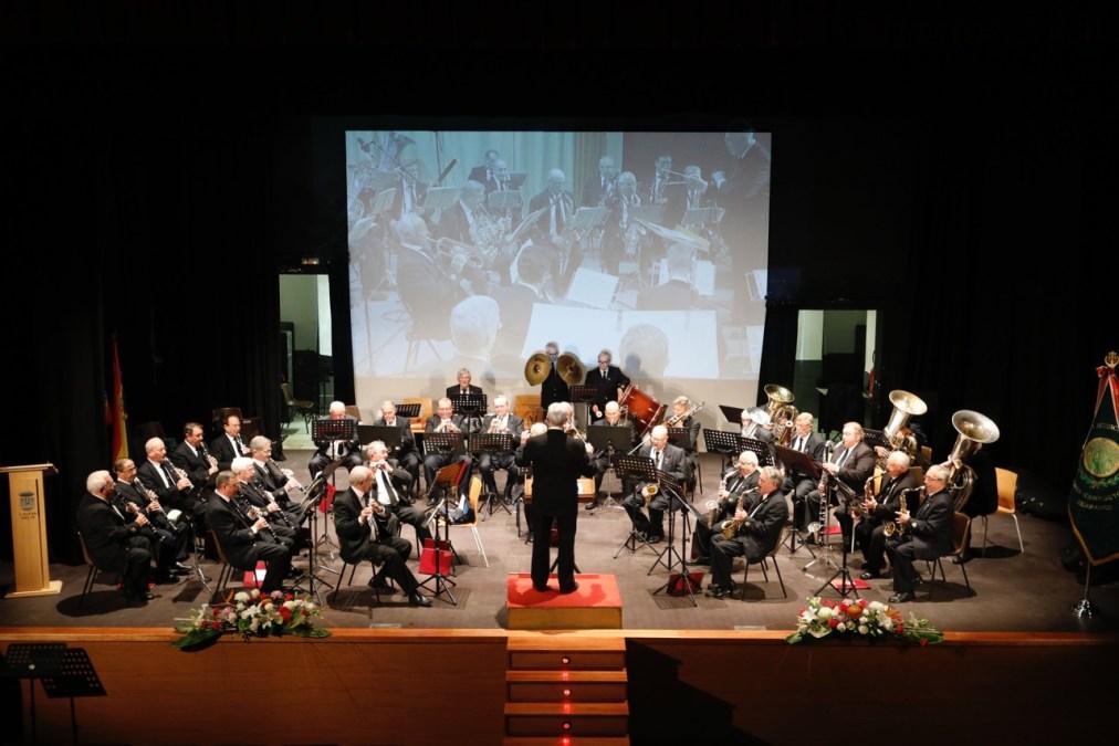 La banda UDP Llíria-CEMUJ-Camp de Túria llenó de música la Casa de Cultura de l'Alfàs