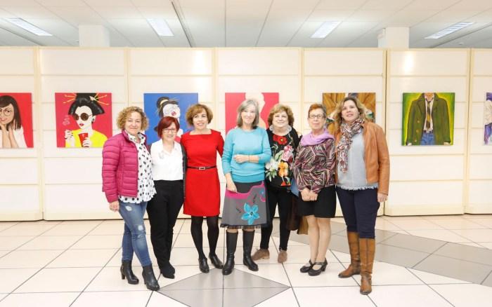 La exposición 'Les Juno també pinten' llega a la Casa de Cultura de l'Alfàs